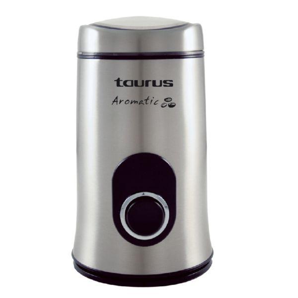 MOLINET DE CAFÈ TAURUS AROMÀTIC cos acer inox 150W