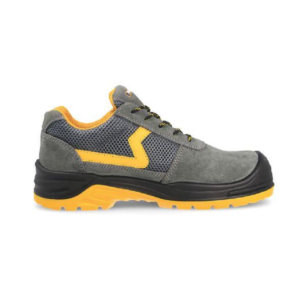 Zapato seguridad Carbono Plus gris amarillo S1P-SRC T/44